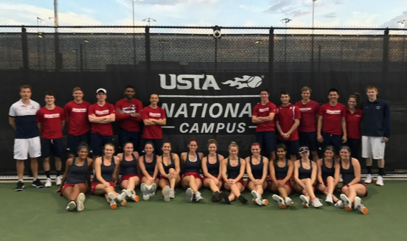 Tennis teams travel to Florida for Spring Break