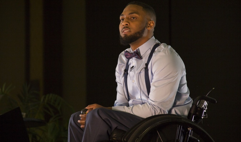 Pittsburgh man paralyzed by police speaks at Duquesne