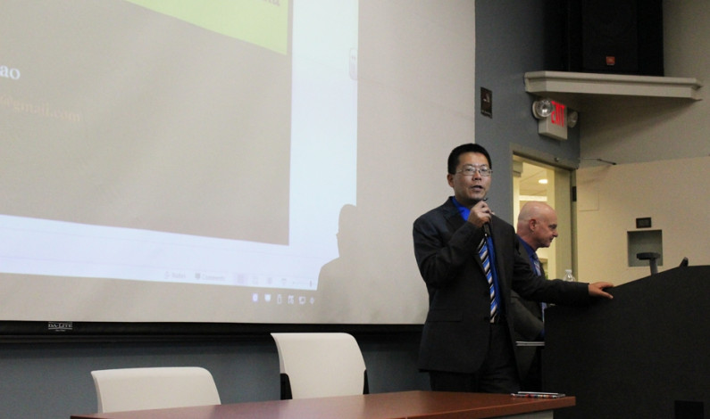 Chinese dissident hosts lecture on human rights at Duquesne
