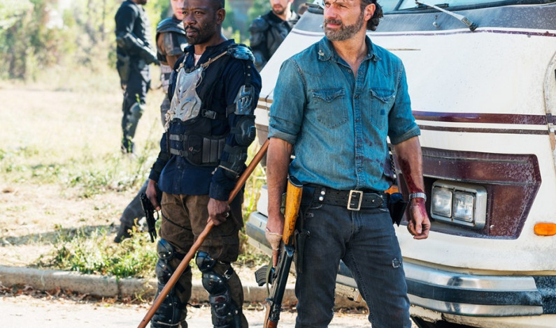 'Walking Dead' season ends with guns a-blazin'