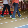 Runners' rumors dispelled about Power Center track