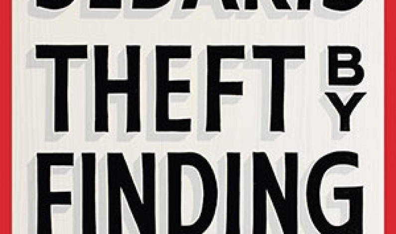"""Theft by Finding"" offers behind-the-scenes look into author's life"