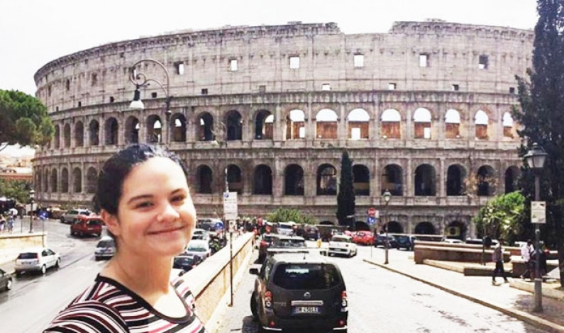 Rome traveler talks truth about studying abroad