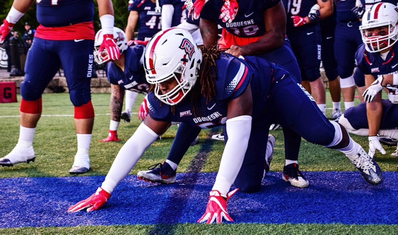 Duquesne football takes lopsided home opener