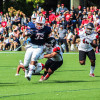 Football sits atop NEC following win over SFU