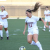 Jr. Katie O'Connor eclipses women's soccer scoring record