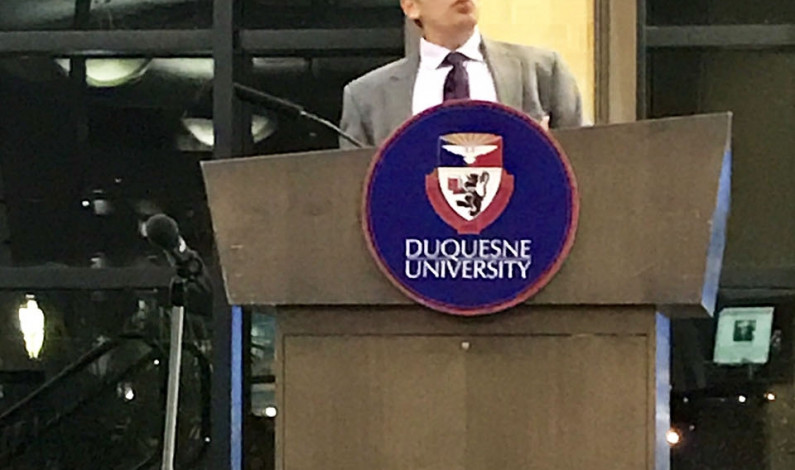 Duquesne's History Forum discusses WWI and America