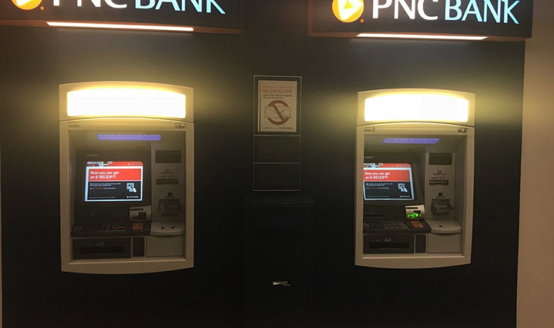 Student reports struggle with the Union ATMs