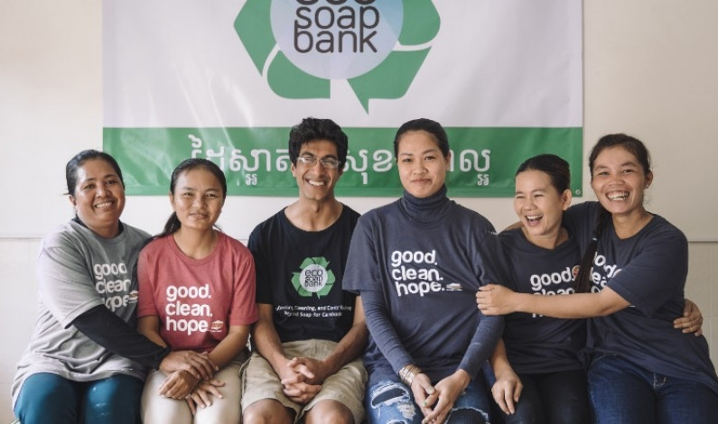 Eco-Soap supports environment and working women