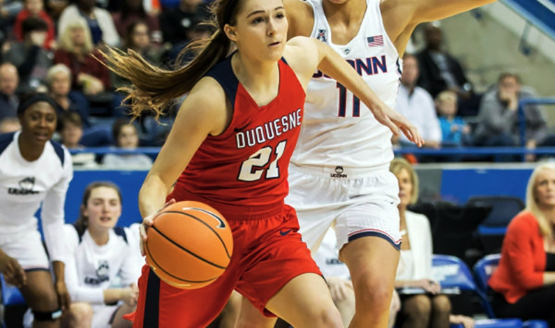 Lewis II, Vojinovic among standout Duquesne hoopers so far