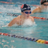 Swim team concludes dual meet slate