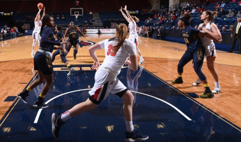 WBB clobbers La Salle to move to 5-0 in A-10 play