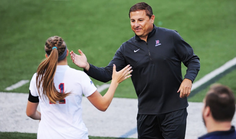 Women's soccer team hires new coach to staff