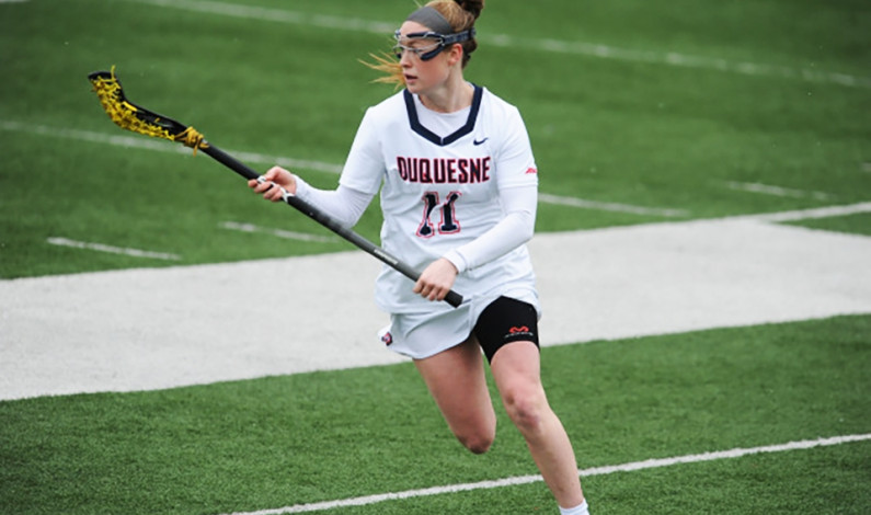 Duquesne lacrosse team falls to visiting Niagara