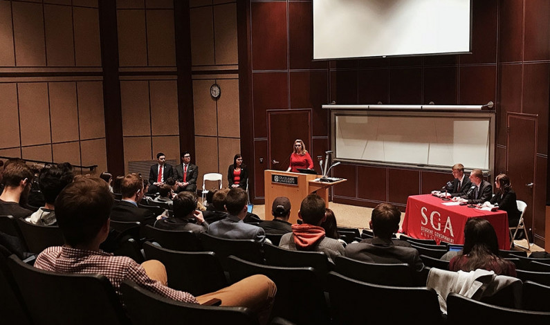 SGA debate provides a look at the future
