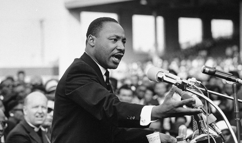 Martin Luther King Jr. Delivers inspiring Speech