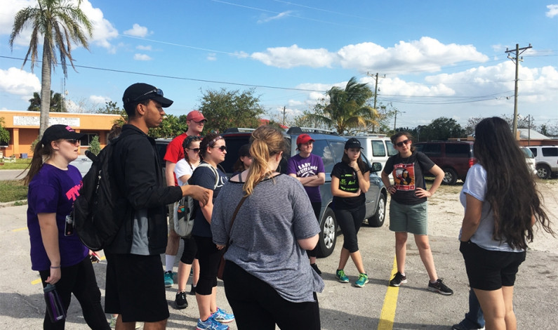 DU Campus Ministry sponsors mission trip to support migrant workers