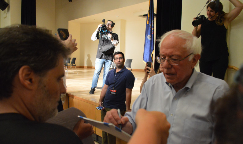 Local progressive state candidates rally with Bernie Sanders in Pittsburgh