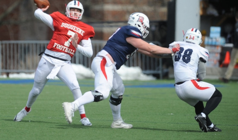 Starting QB still undecided ahead of UMass game