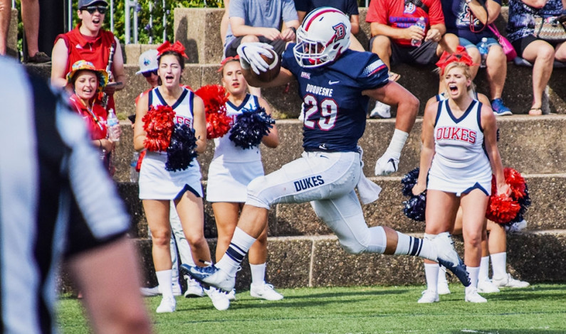 Duquesne tops Lock Haven 45-0 in home opener