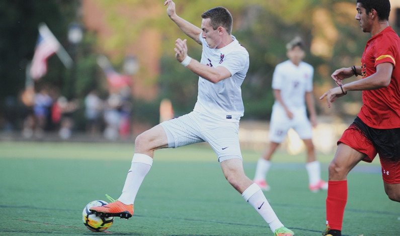 Men's soccer team tops Detroit 3-0 for first win