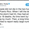 Trump's tweets once again spark controversy