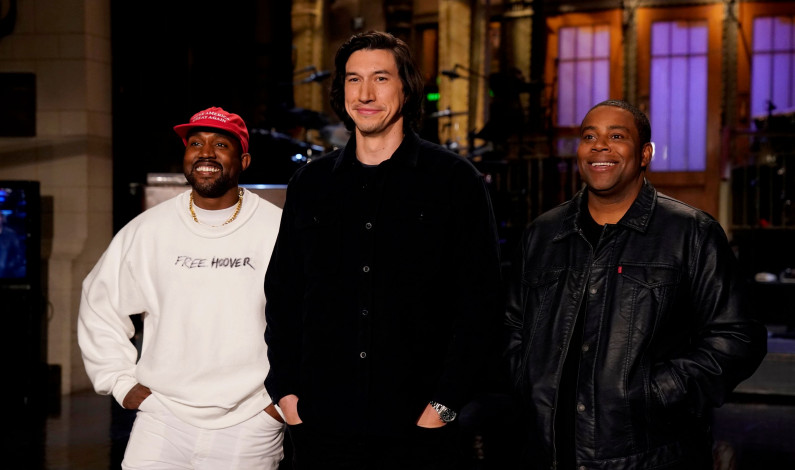 SNL nails season premiere, but is drowned out by 'Ye'