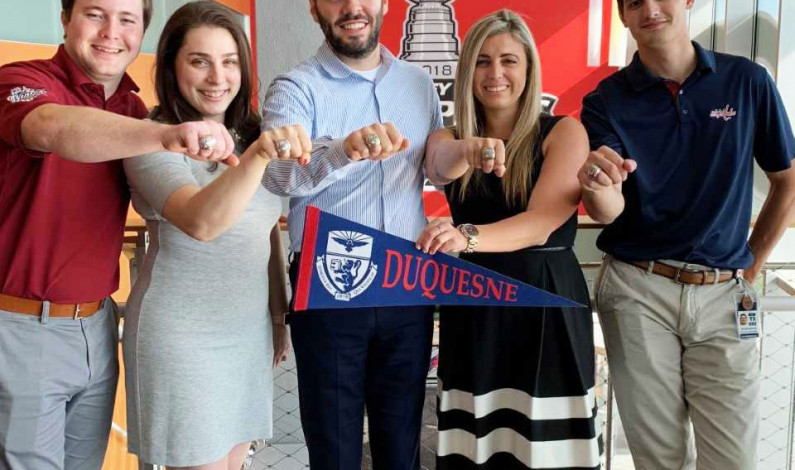 Duquesne grads earn Cup rings as Capitals employees