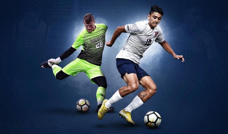 DU men's soccer team tops No. 23 Rhode Island