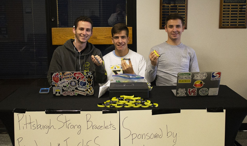 Campus organizations donate funds to synagogue