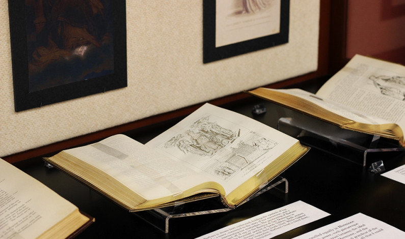 DU opens new exhibit in library
