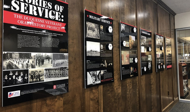 DU library shares stories of veterans through oral history exhibit