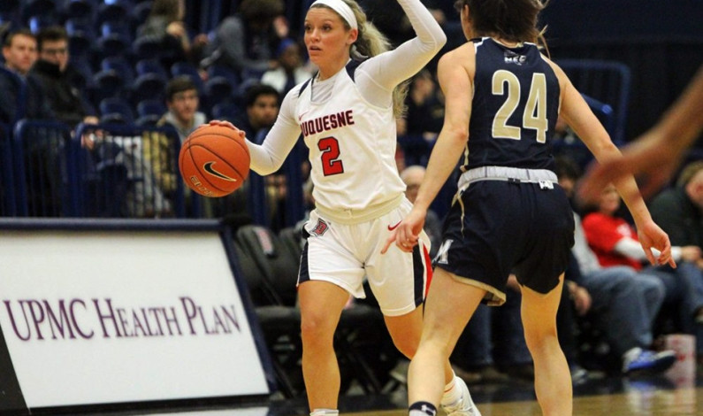 Women's team experiencing shooting woes early