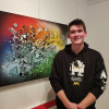 Trip abroad inspires local grad to become artist