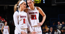 Duquesne women's team falls to Saint Louis