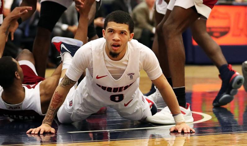 Men's basketball team set for Brooklyn, A-10 tourney