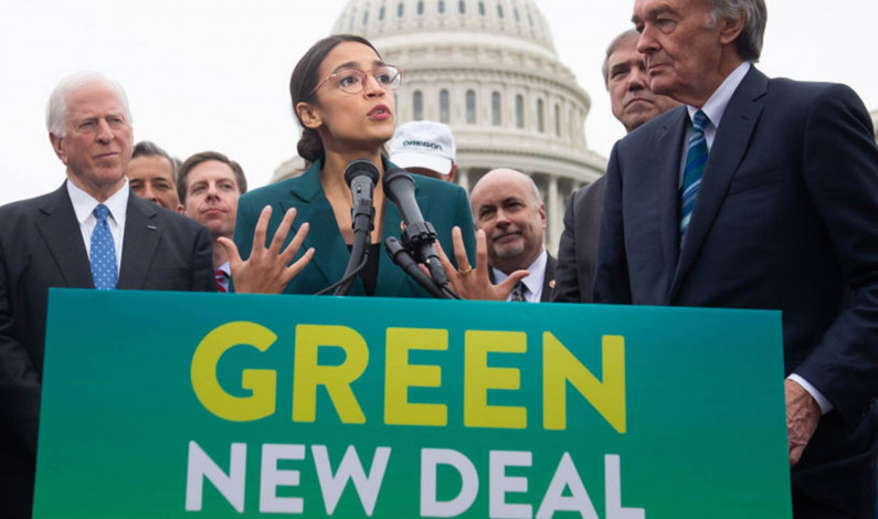 Green New Deal a good start, but lacks funding, alienates moderates