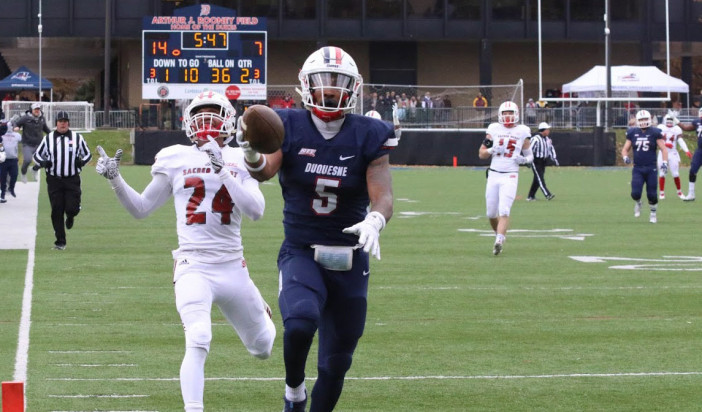 Preview: Dukes football heads to Sacred Heart