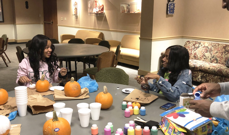 Duquesne NPHC hosts Pumpkin Painting event