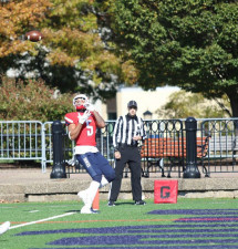 Football wins again, moves to 4-0 in conference play