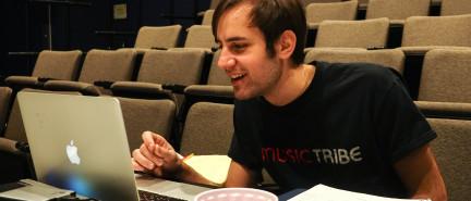 Point Park student showcases his talents through sound production