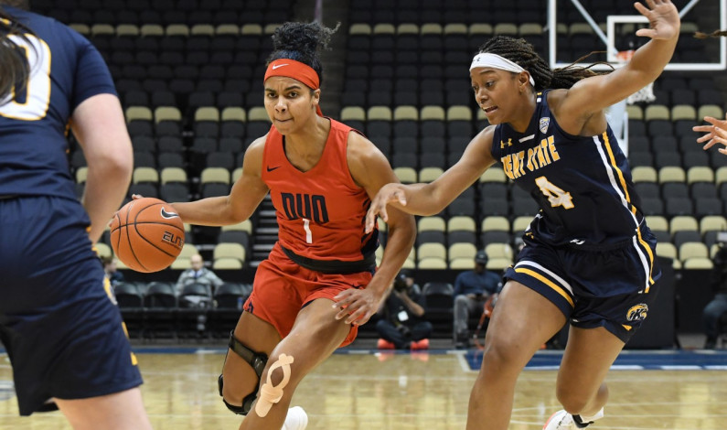 WBB drops season opener to Kent State at the buzzer