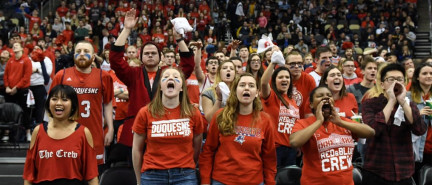 Basketball teams doing their job, students need to show support