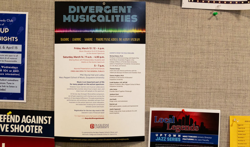 Campus event educates on autism spectrum disorder, music