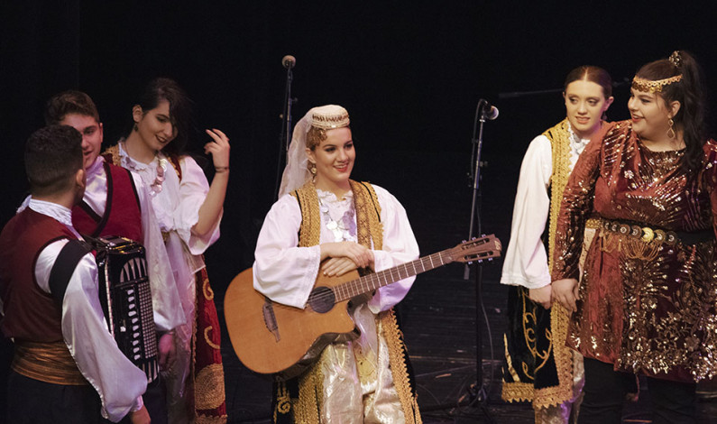 Tamburitzans perform at Pittsburgh high school