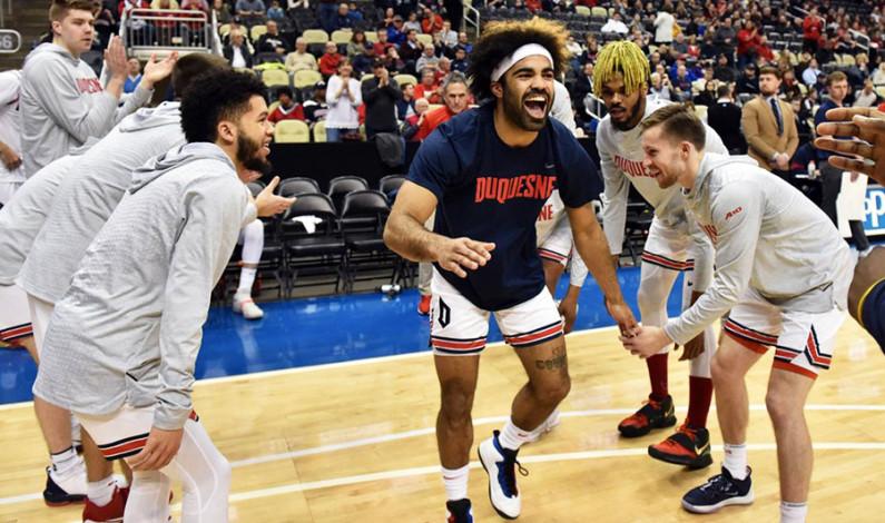 Men's basketball loses final regular season game