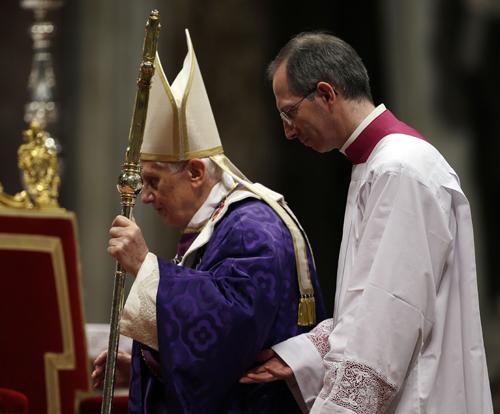 Vatican Pope Ash Wednesday