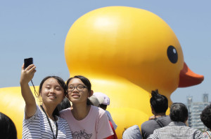 Taiwan Rubber Duck