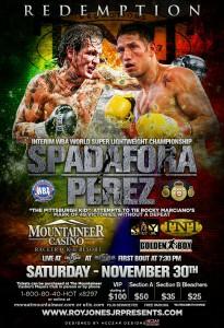 Spadafora vs. J. Perez Sat. Nov. 30th