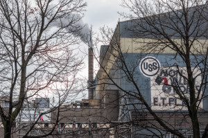 Aaron Warnick / Photo Editor - U.S. Steel's Edgar Thompson plant is located across the street from where Superior Motors will be.